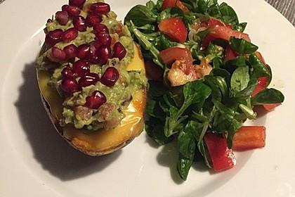Süßkartoffeln mit Avocado und Granatapfel 27