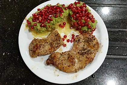 Süßkartoffeln mit Avocado und Granatapfel 29