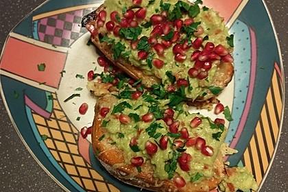 Süßkartoffeln mit Avocado und Granatapfel 33