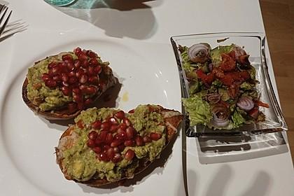 Süßkartoffeln mit Avocado und Granatapfel 38
