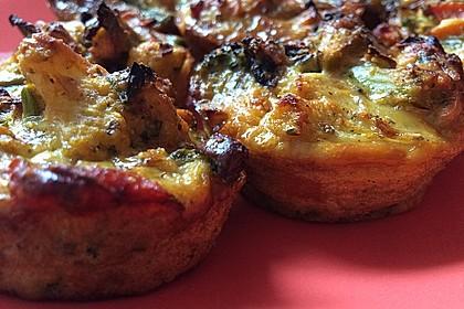 Herzhafte Low Carb Muffins 1