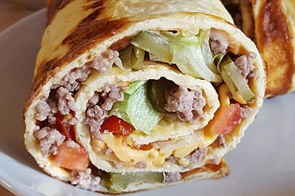 Low-Carb Big Mac Rolle 67