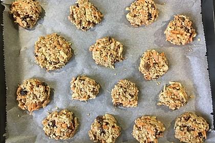 Gesunde Karotten-Apfel-Cookies 4