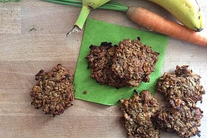 Gesunde Karotten-Apfel-Cookies 9