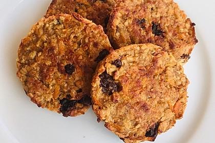 Gesunde Karotten-Apfel-Cookies 8