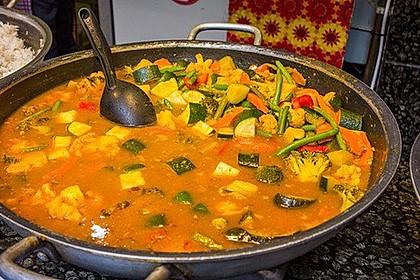 Indisches Gemüse-Curry