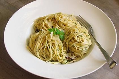 Spaghetti aglio e olio 1