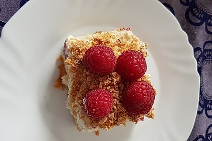 Himbeer-Mascarpone-Dessert 1
