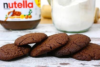 Nutella Kekse mit nur 3 Zutaten