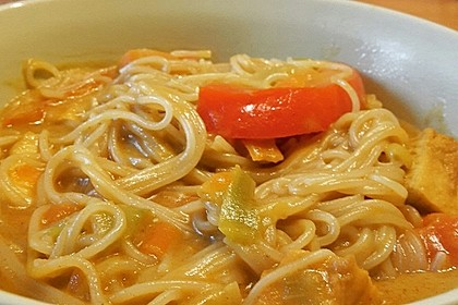 Kokos-Tofu-Curry