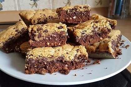 Brookies - Brownies mit knuspriger Cookie-Kruste 1