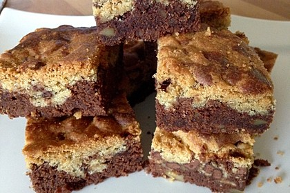 Brookies - Brownies mit knuspriger Cookie-Kruste 4