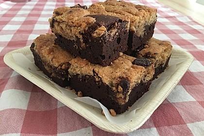 Brookies - Brownies mit knuspriger Cookie-Kruste 9