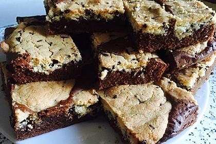 Brookies - Brownies mit knuspriger Cookie-Kruste 14