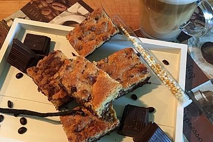 Brookies - Brownies mit knuspriger Cookie-Kruste 8