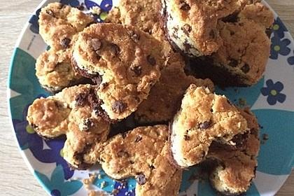 Brookies - Brownies mit knuspriger Cookie-Kruste 10