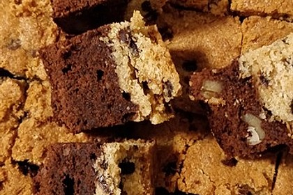 Brookies - Brownies mit knuspriger Cookie-Kruste 25