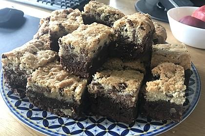 Brookies - Brownies mit knuspriger Cookie-Kruste 12
