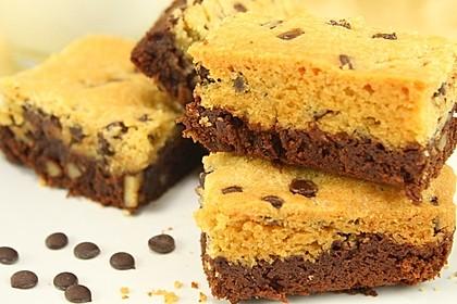 Brookies - Brownies mit knuspriger Cookie-Kruste 3