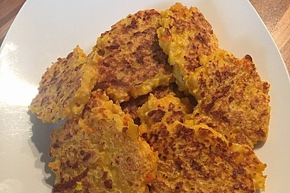 Pumpkin Patties - würzige Kürbis-Puffer 3