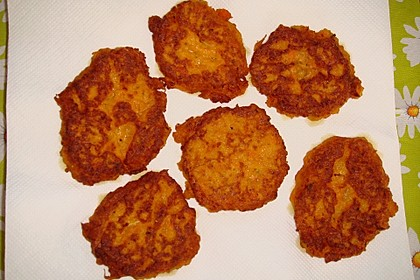 Pumpkin Patties - würzige Kürbis-Puffer 7