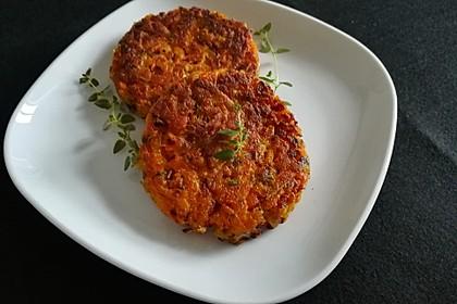 Pumpkin Patties - würzige Kürbis-Puffer 3