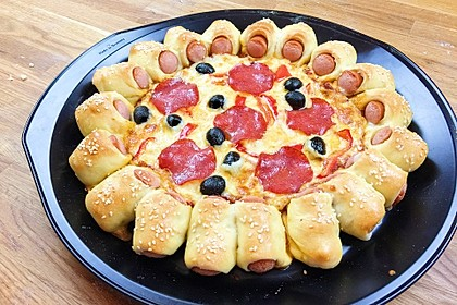 Hot Dog Pizza 0