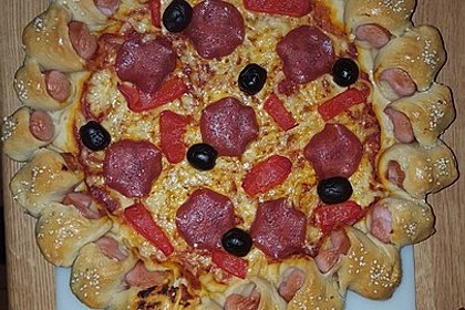 Hot Dog Pizza 9