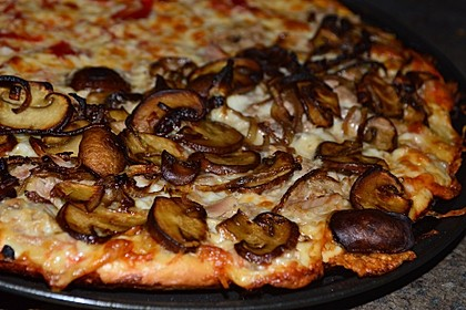 American Pizza Teig selber machen 5