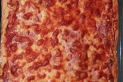 American Pizza Teig selber machen 3