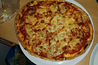 American Pizza Teig selber machen 8