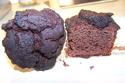 schokolade bananen muffins mit kidneybohnen von nuriniel. Black Bedroom Furniture Sets. Home Design Ideas