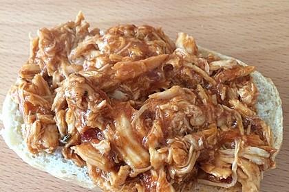 Schnelles Pulled Pork Vom Gasgrill : Rezept pulled chicken burger living bbq