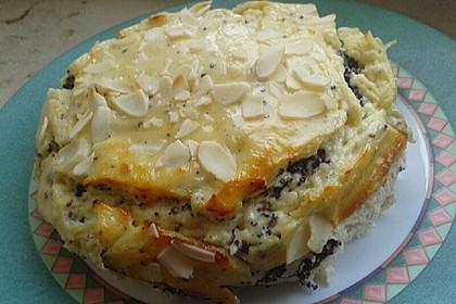 Proteinreicher Mohn-Käse-Kuchen ohne Mehl