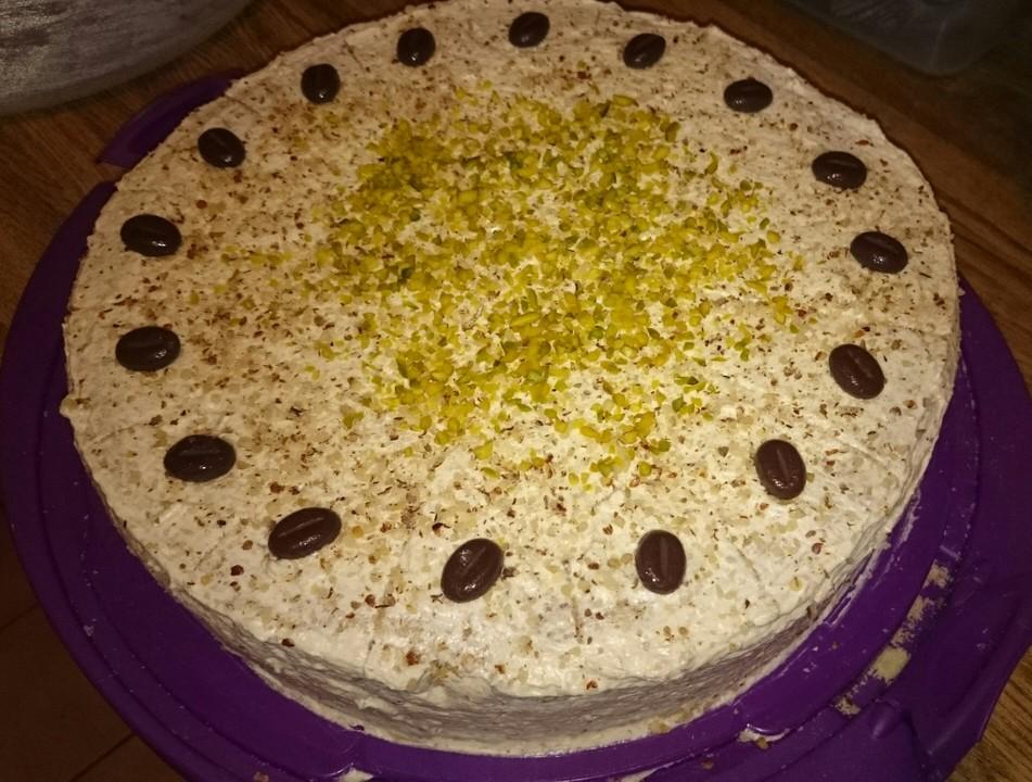 schachbrett torte buttercreme