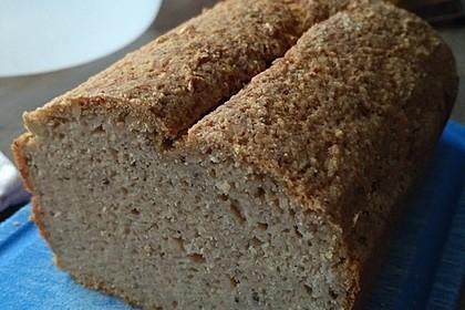 Glutenfreies Brot ohne Fertigmehlmischungen - Clean Cooking