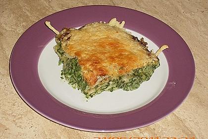 Spinat - Lasagne