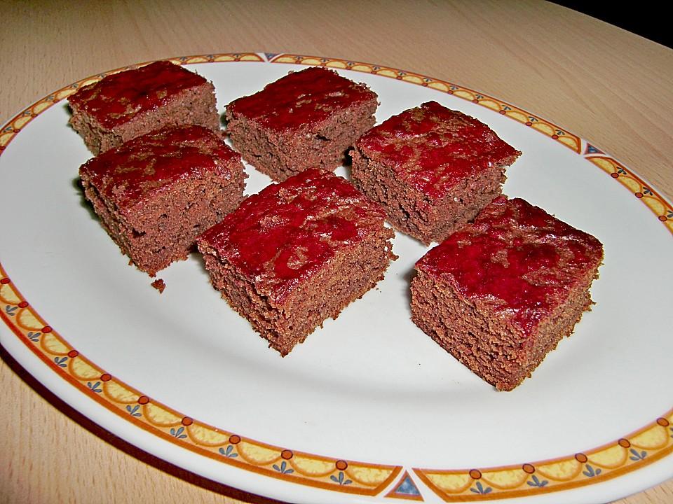 erdbeer brownies rezept mit bild von maeuselchen. Black Bedroom Furniture Sets. Home Design Ideas