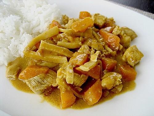 g ng gari gai gelber thai curry mit huhn rezept mit bild. Black Bedroom Furniture Sets. Home Design Ideas