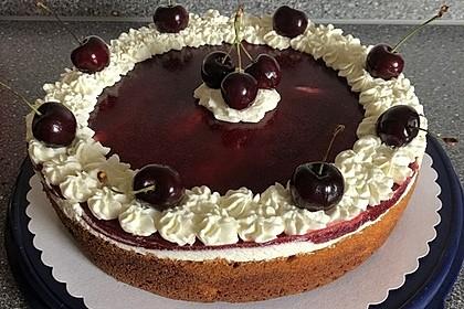 Schneewittchen - Quark - Torte 7