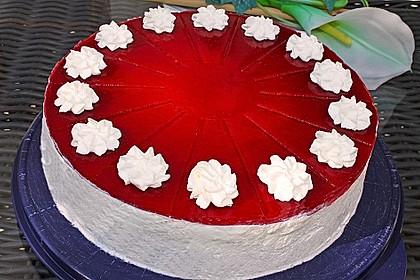 Schneewittchen - Quark - Torte