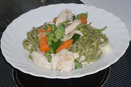 Gemüsepfanne mit Hähnchen 22