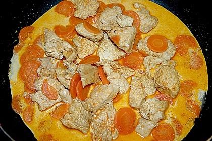 Gemüsepfanne mit Hähnchen 21