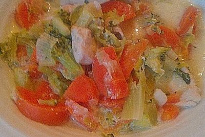 Gemüsepfanne mit Hähnchen 20