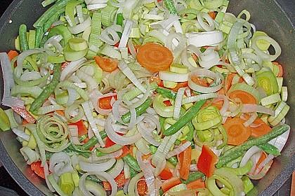 Gemüsepfanne mit Hähnchen 19