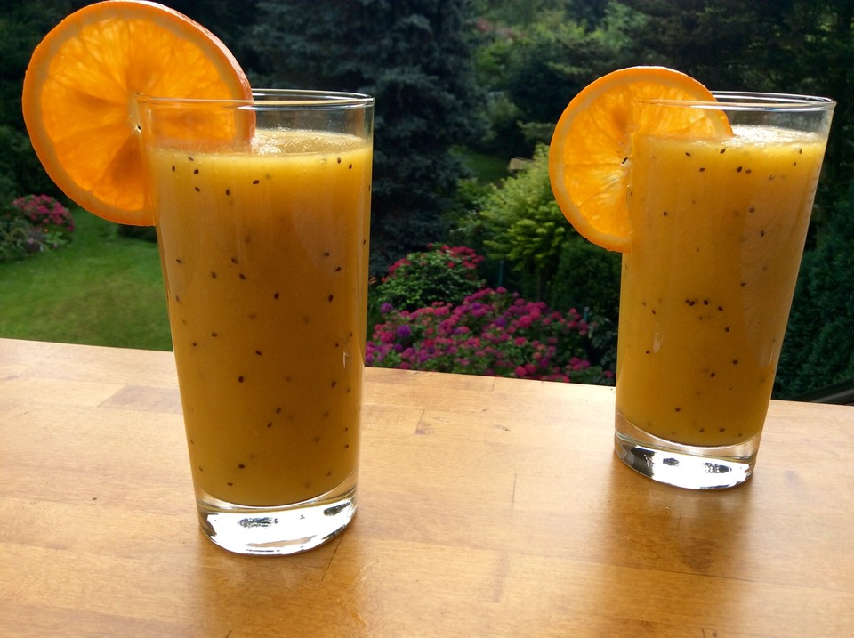 mango kiwi ingwer smoothie rezept mit bild. Black Bedroom Furniture Sets. Home Design Ideas