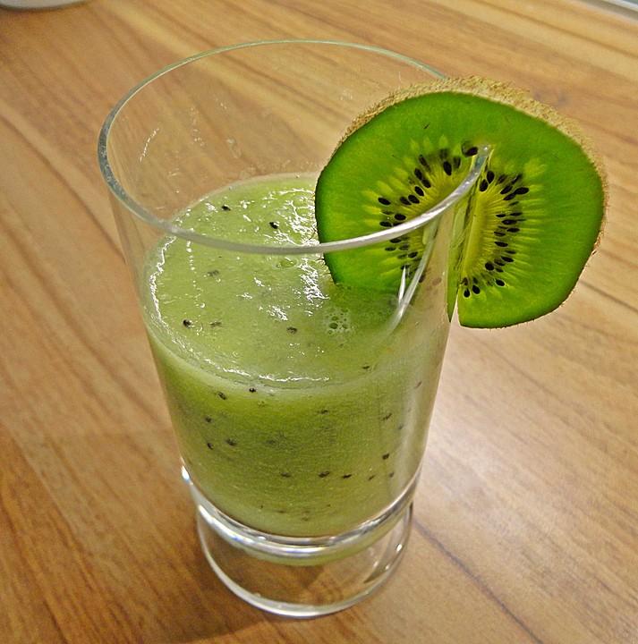 kiwi melonen smoothie rezept mit bild von meiki23. Black Bedroom Furniture Sets. Home Design Ideas