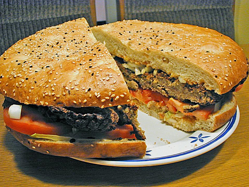 Riesen Hamburger
