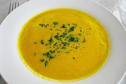 Möhren - Ingwer - Honig Suppe 6