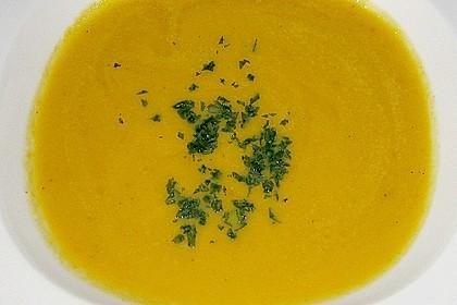 Möhren - Ingwer - Honig Suppe 31